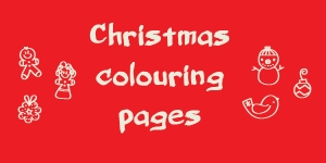 Roundup: Christmas Colouring Pages
